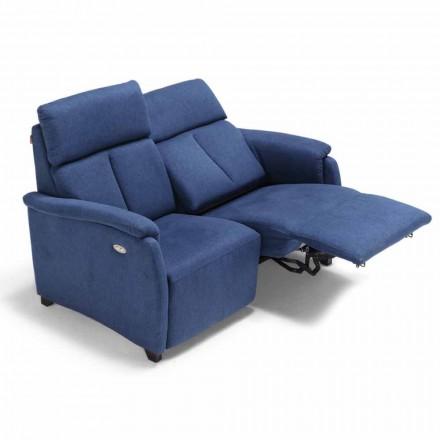 Motoriseret Couch 2 sæder med elektrisk sæde Gelso 1, moderne design