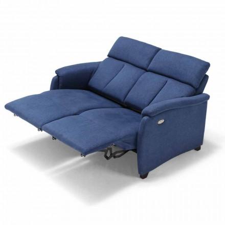Sofa 2posti elektrisk afslapning, 2 elektriske sæder Gelso, moderne design