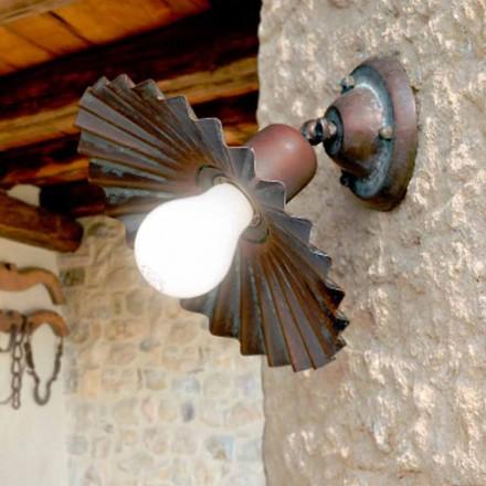 Forsænket loft lys i antik messing Owl