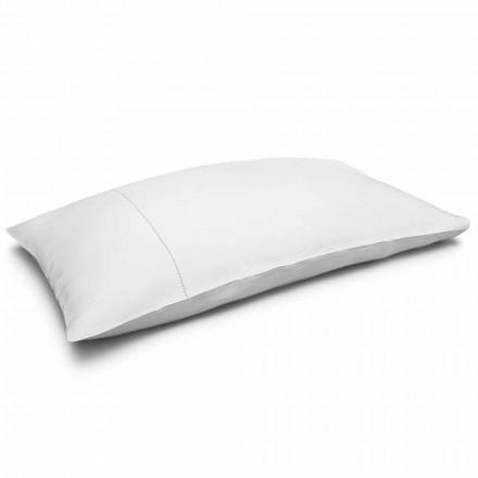 Cremehvid pudebetræk af rent sengetøj Lavet i Italien - Chiana