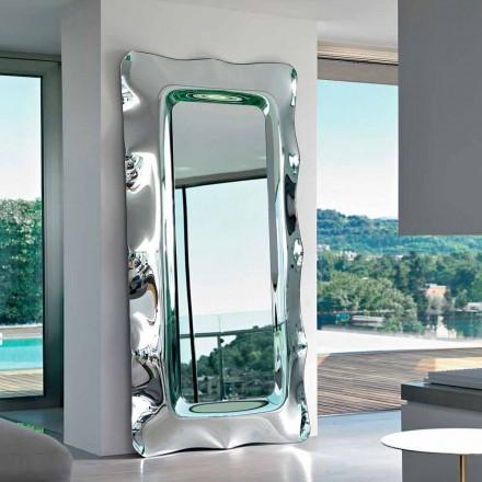 Fiam Italia Dorian gulv / væg spejl 202x105cm fremstillet i Italien