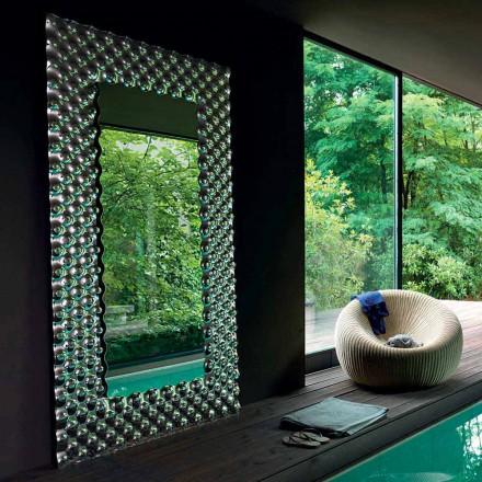 Fiam Italia Pop moderne væg / gulv spejl 216x116cm fremstillet i Italien