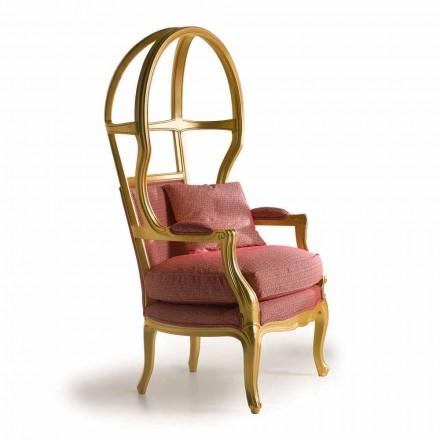 Fratelli Boffi Babette stol design træ betrukket med stof