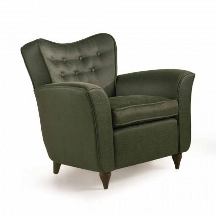Fratelli Boffi Leonie Design polstret stol, ryg capitonnè