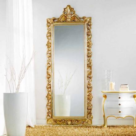 Stort spejl gulv / væg klassisk designede Tiara, 86x220 cm