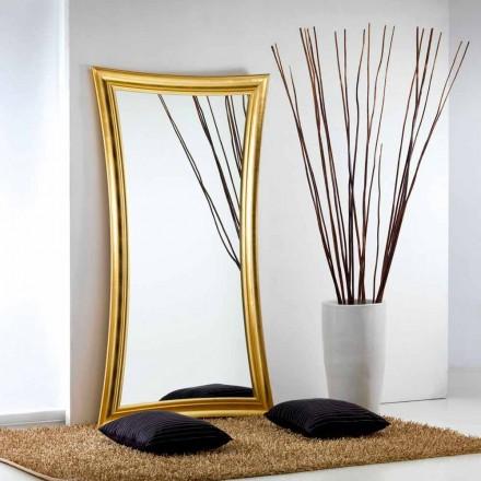Stort spejl gulv / væg moderne design Heart, 110x197 cm
