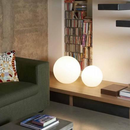 Moderne gulvlampe / bord Slide Globo, lavet i Italien