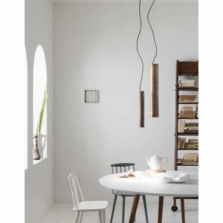 Lampe cylindrisk suspension Ø4 Girasoli Il Fanale