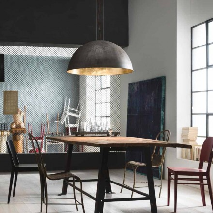 Hængende lampe rustikt design Ø60 cm Galileo Il Fanale