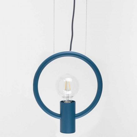 Design ophængslampe i stål fremstillet i Italien - Delizia