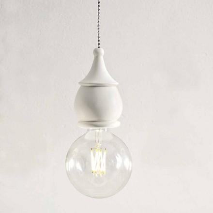 Lurvet Chic keramisk ophængslampe - Skæbne af Aldo Bernardi