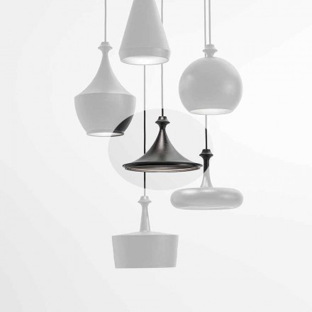 Keramisk Suspension Led-lampe - Lustrini L1 Aldo Bernardi