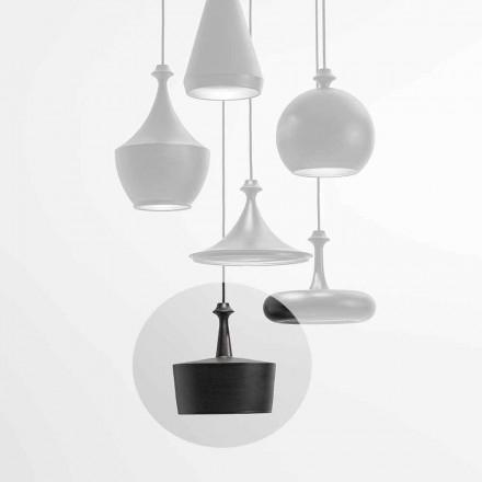 LED keramisk lysophængslampe - L6 Glitter Aldo Bernardi