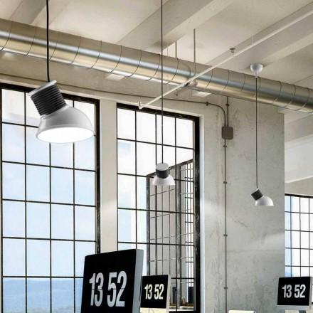 Lampe keramisk suspension Den Lustri 10 Aldo Bernardi