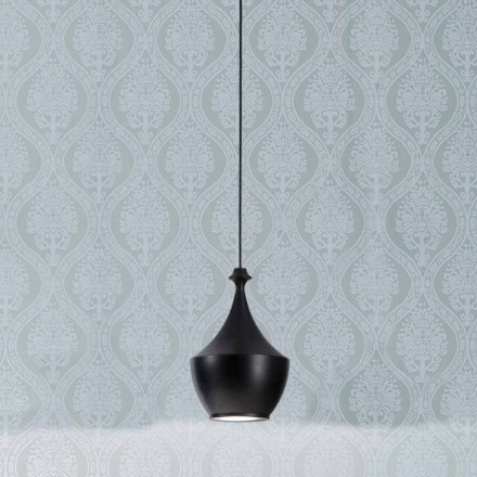 Lampe keramisk suspension Den Lustri 3 Aldo Bernardi