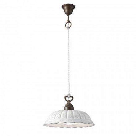 Lampe keramisk suspension Ø32 Anita Il Fanale