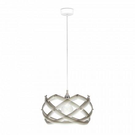 Lampe methacrylat suspension med anstand, diam.40 cm, Vanna