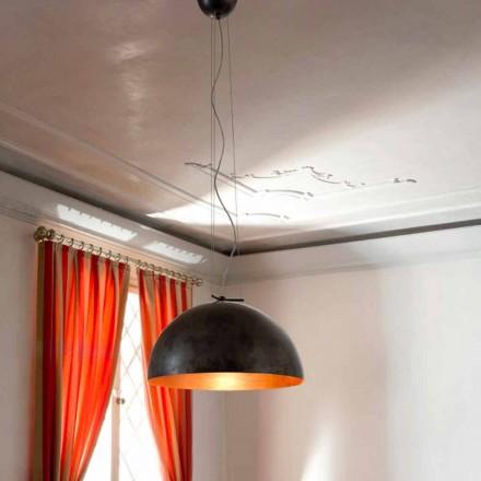 Lampe lille suspension i Moonlight Steel