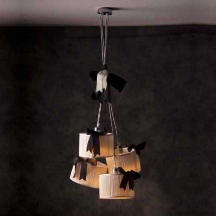 Chanel 4-lys vintage vedhæng lampe
