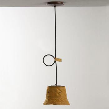 Håndlavet lampe i polyester og aluminium fremstillet i Italien - Toscot Junction