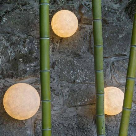 Vægmonteret udendørs lampe In-es.artdesign A. Månen Ud i nebulit