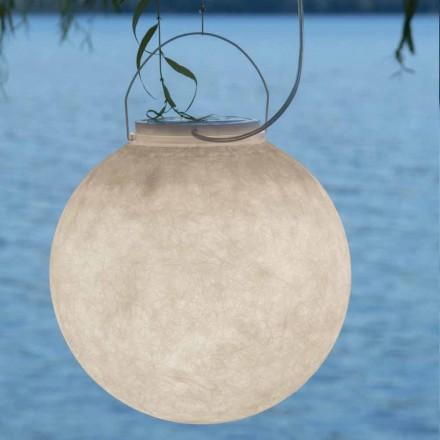 Udendørs fjederlampe In-es.artdesign Luna Ud i nebulit