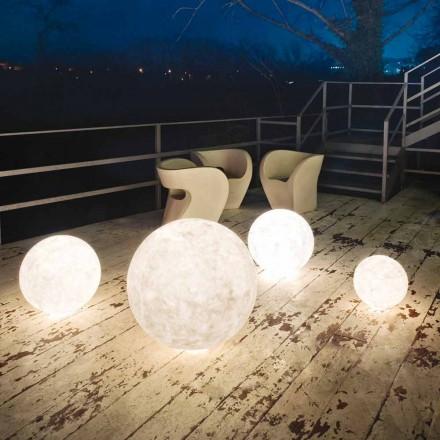 Udendørs gulvlampe In-es.artdesign Ex.Moon i nebulite