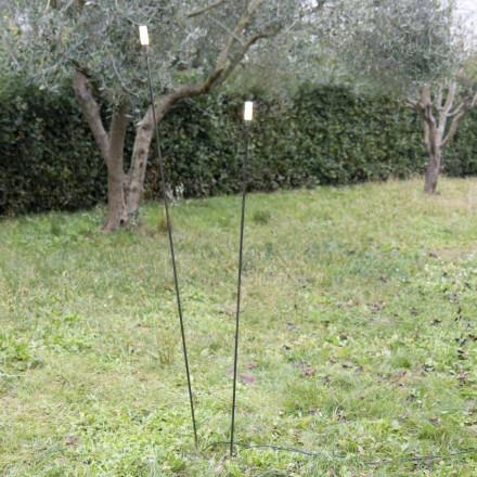 Udendørslampe i malet jern Minimal design fremstillet i Italien - Filo