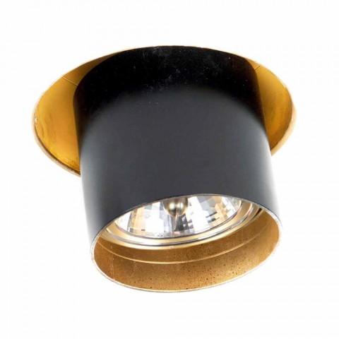 Artisan indbygget lampe i justerbar aluminium fremstillet i Italien - Adra