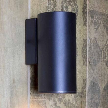 Håndlavet cylindrisk jernvæglampe fremstillet i Italien - Gemina