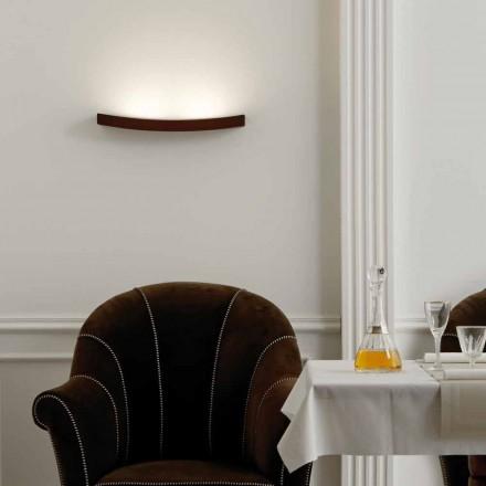 Lampe moderne design stål væg L50x H3,5xSp.10 cm Eldora