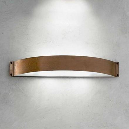 lampe væg Mode kobber og hvid methacrylat