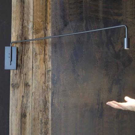 Håndlavet væglampe med jernkonstruktion fremstillet i Italien - Solana