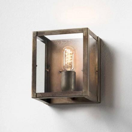 Jern væglampe industriel stil London Il Fanale