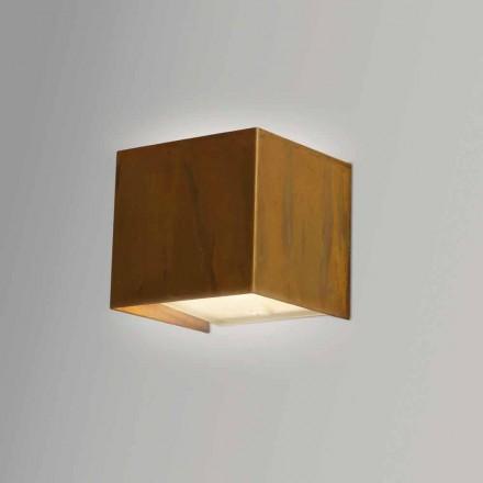 Væg lampe i moderne design Messing 9x 9x H sp.9 cm Venus