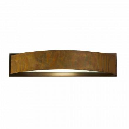 Væglampe i messing og stål H 49x 10 cm xsp.9 Blandine