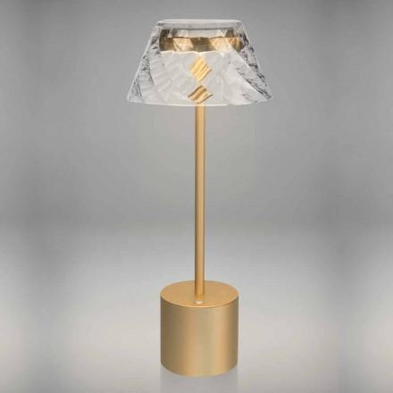 Design Touch Led bordlampe i metal og akryl - Tagalong