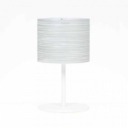 Bordlampe med moderne design dekoration, diameter 30 cm, Debby
