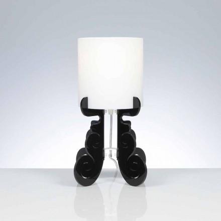 Bordlampe med en cylindrisk lampeskærm, diameter 18,5 cm, Samanta