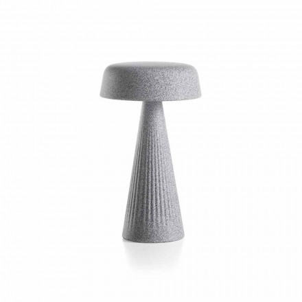 Bordlampe med struktur i polyethylen Fremstillet i Italien - Desmond