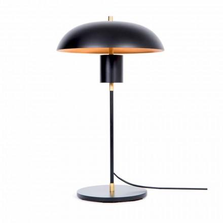 Artisan Design bordlampe i jern og aluminium fremstillet i Italien - Marghe
