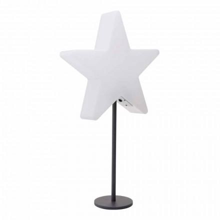 Moderne design bordlampe, stjerne med eller uden piedestal - Littlestar