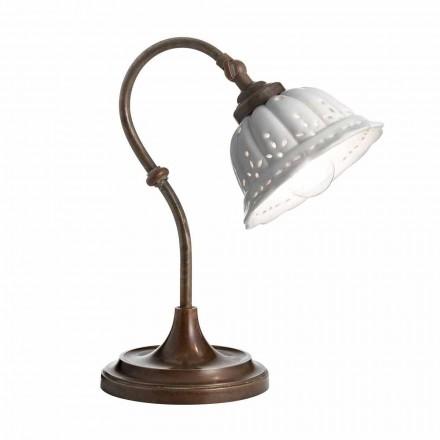 Lampe art nouveau keramiske tabel Anita Il Fanale