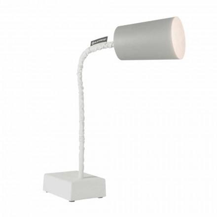 Bordlampe In-es.artdesign Maling T2 fleksibel cementstamme