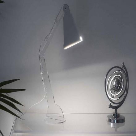 Tecno-stil bord / læselampe med LED lys, Flero