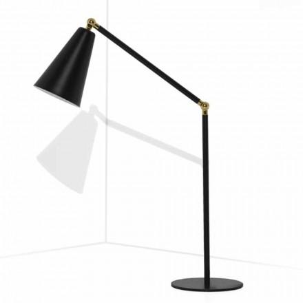 Moderne bordlampe med metalstruktur fremstillet i Italien - Zaira