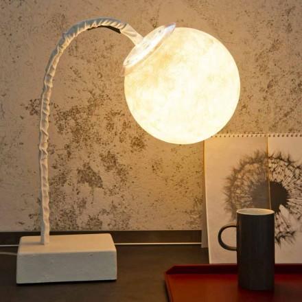 Bordlampe moderne fleksibel stang In-es.artdesign MicroT Luna