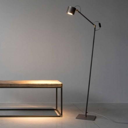 Håndlavet lysætset gulvlampe fremstillet i Italien - Vanda