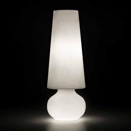 Udendørs gulvlampe med polyethylenstruktur fremstillet i Italien - Desmond