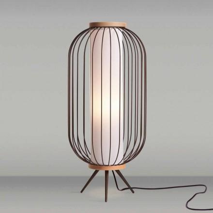 Standerlampe moderne design i rustfrit stål cm diameter 37xH80 Fanny